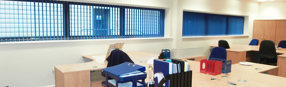 Commercial contract and office blinds derby blindsderby for Office design derby